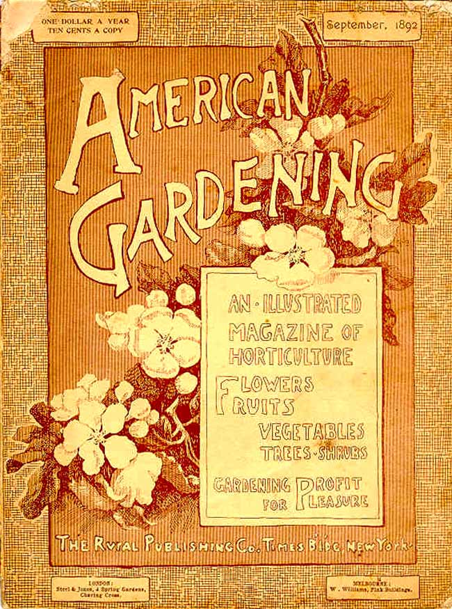 In the 19th Century Englands Garden Magazines Outnumbered