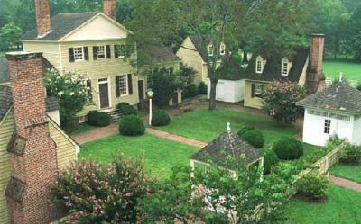 Colonial Williamsburgu0027s Gardens.