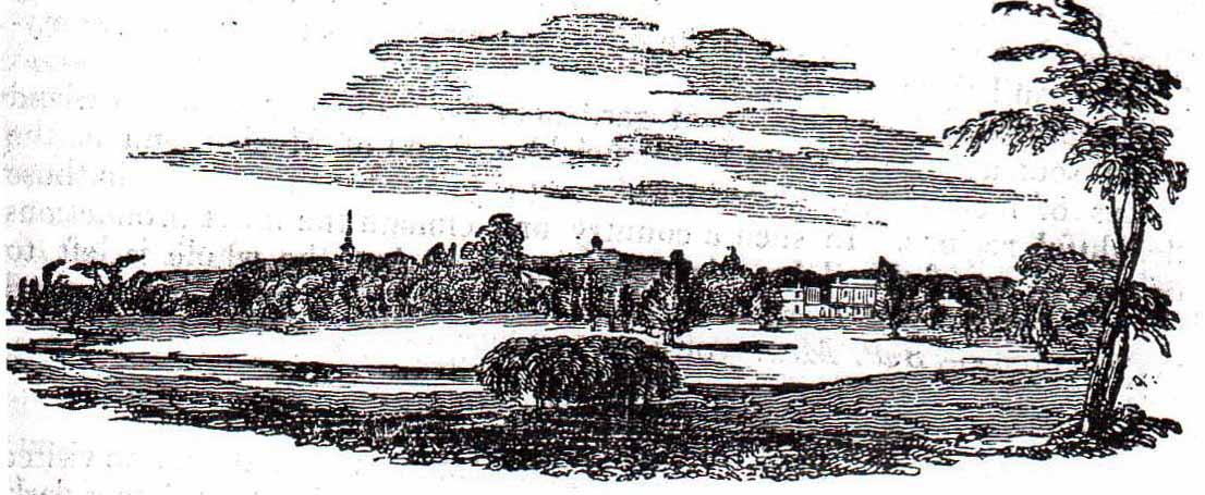 Theodore Lyman Property, Waltham, Mass. [Gardener's Magazine, 1826]